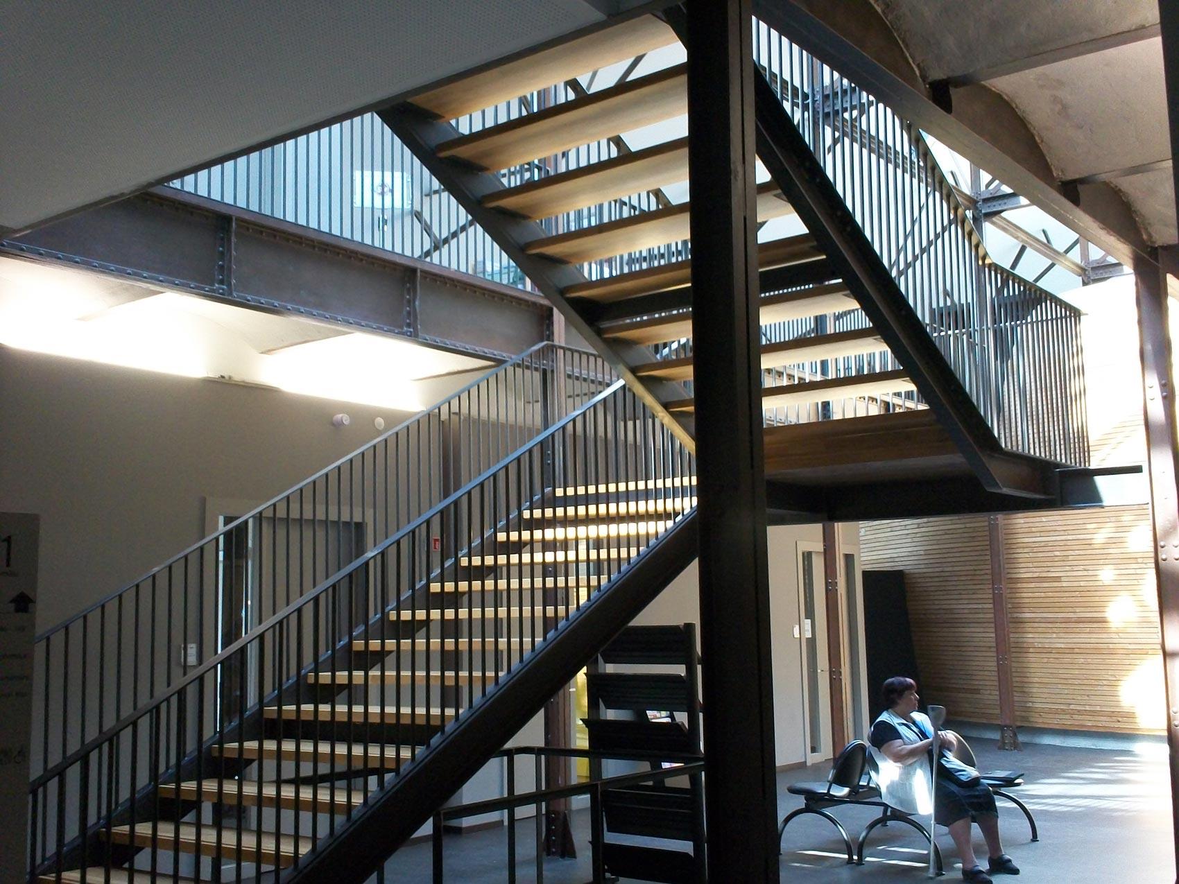 construction métallique - serrurerie métallique alsace 68 - conseil général bas rhin - muller rost