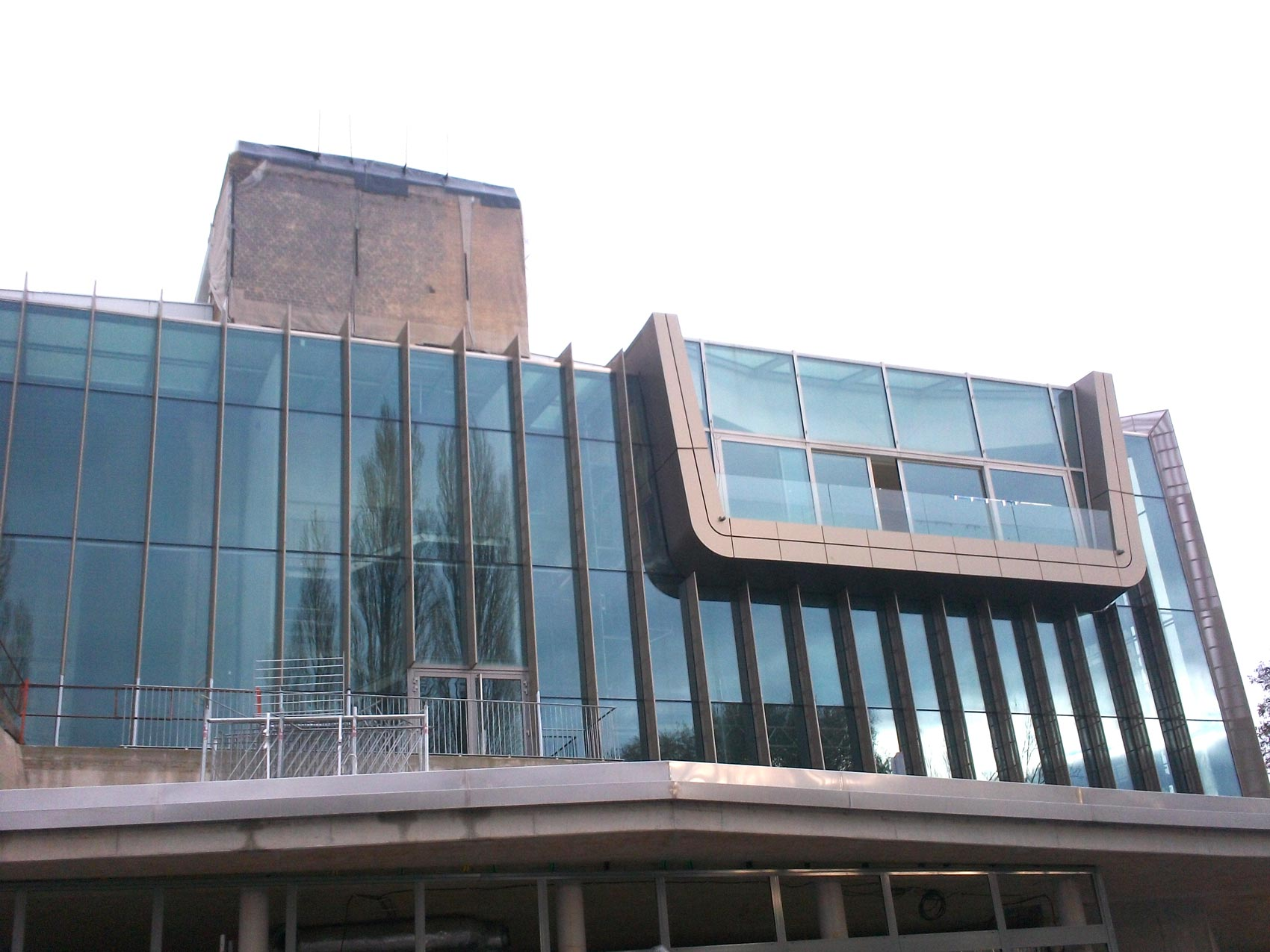 MAISON DE L'ENSEIGNEMENT STRASBOURG après - Construction Métallique - Muller Rost