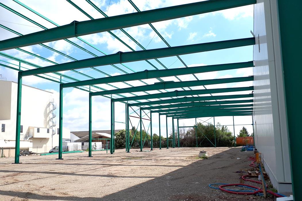 Bâtiments agricoles: construction charpentes métalliques - muller-rost