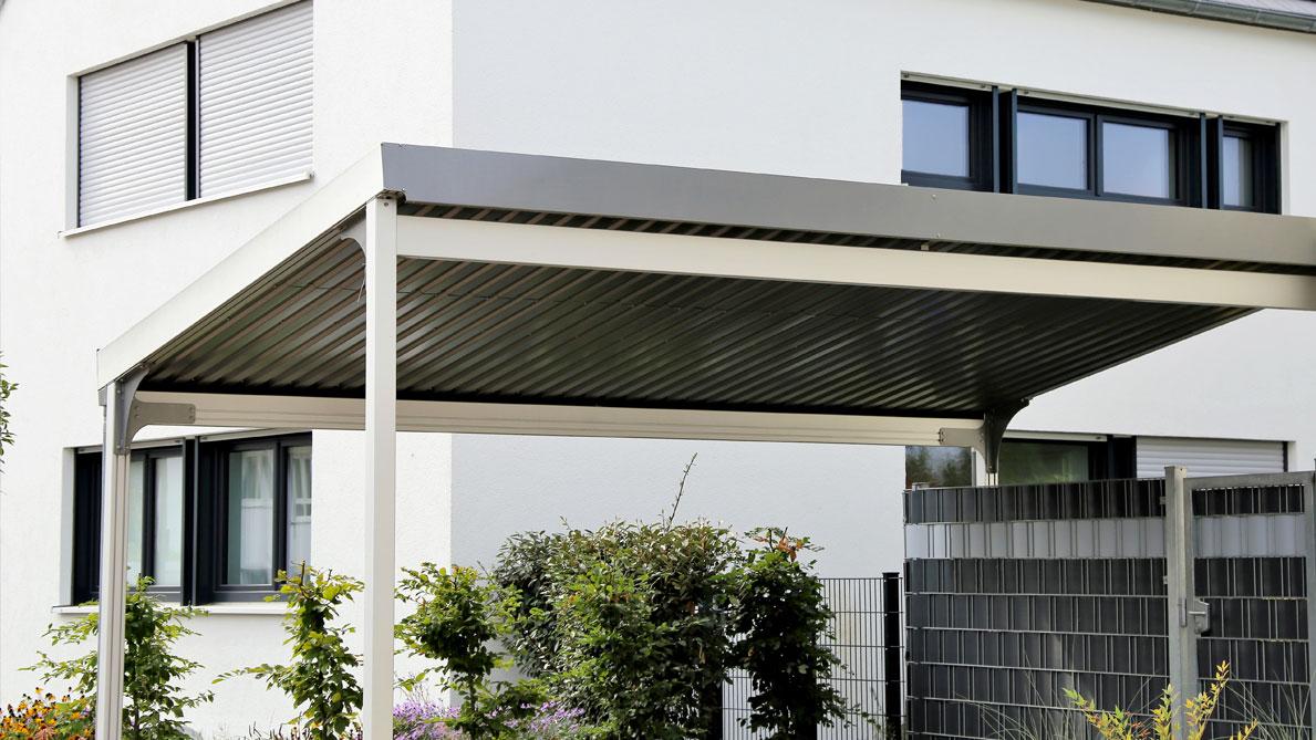 Garages ossature metallique - constructions garage métal - muller-rost