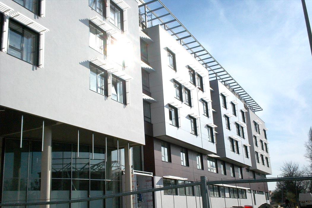 Charpente métallique & construction erp - bâtiment métal - muller-rost