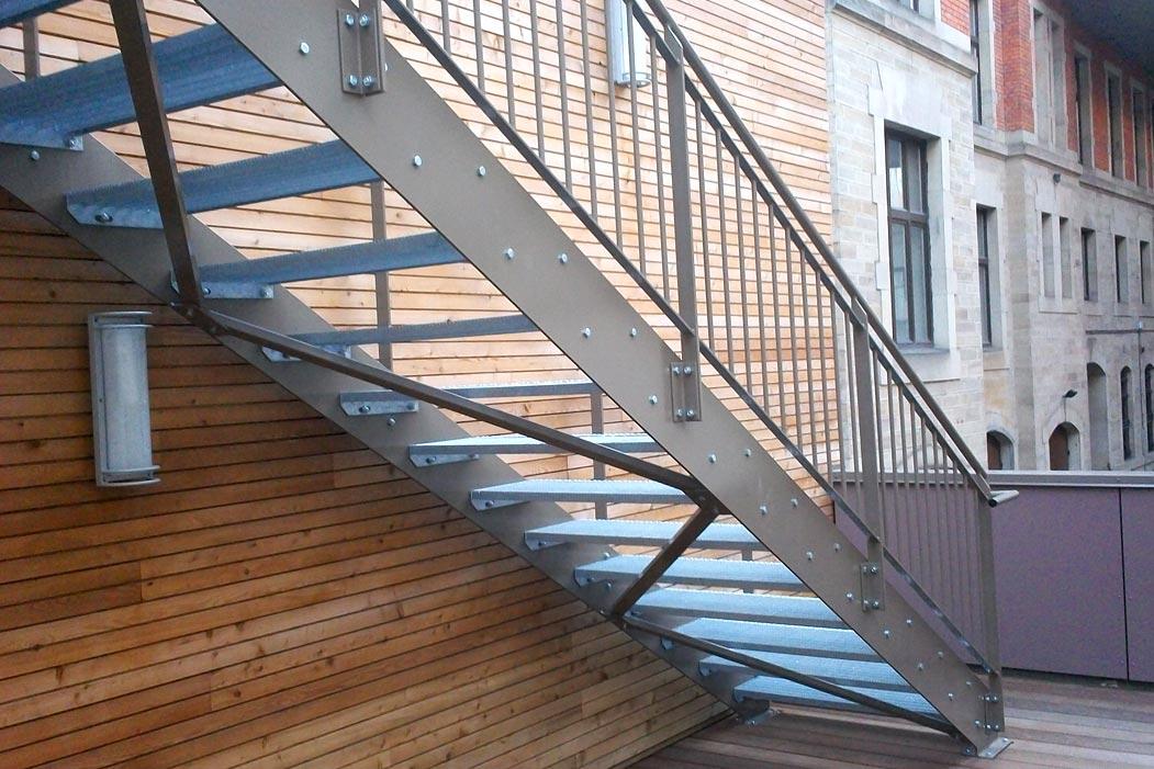 Escaliers métalliques & tour escalier – metallerie - muller-rost