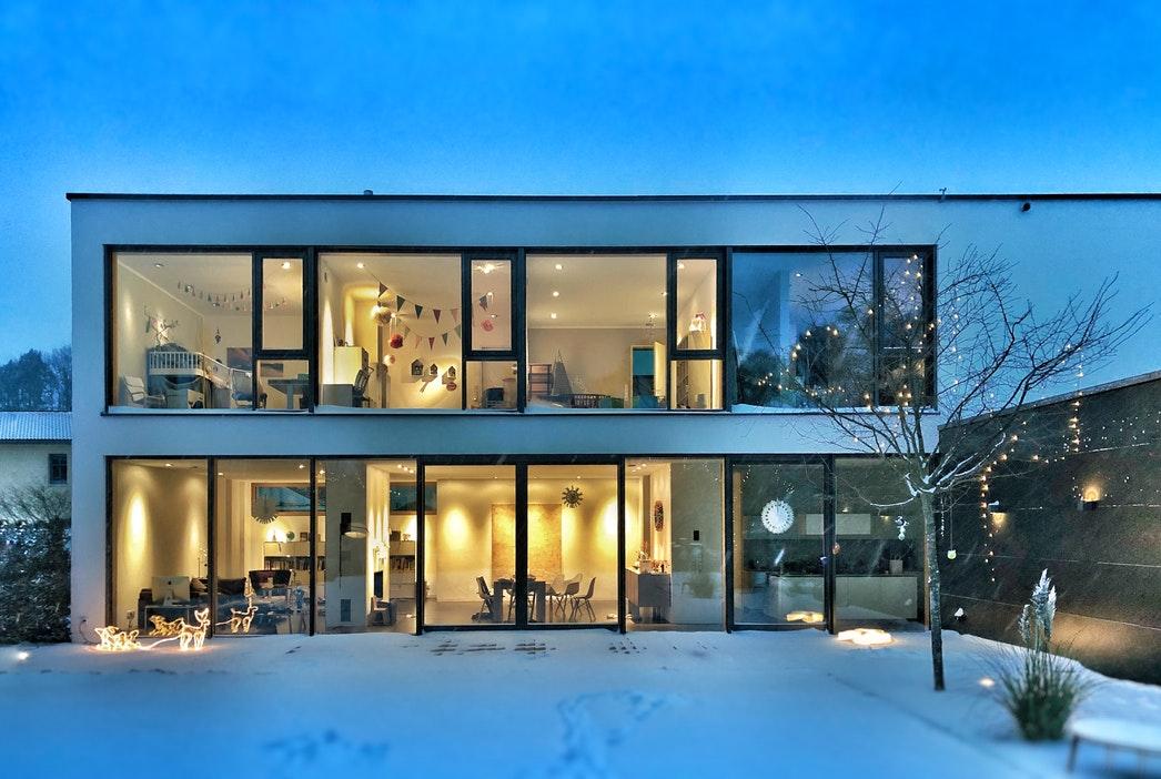 Construction maison ossature métallique - charpente métal - muller-rost