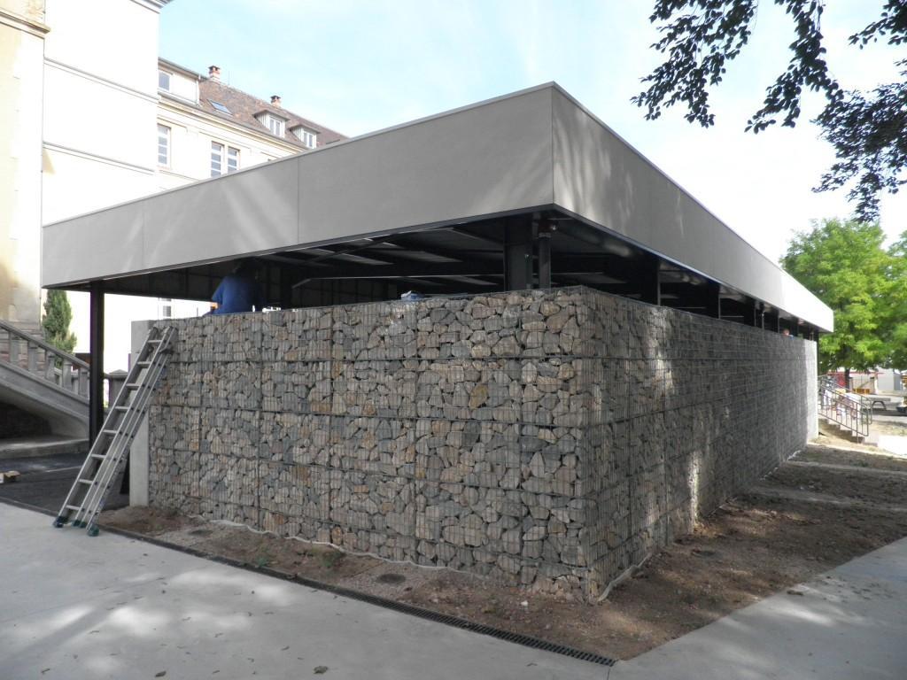 Collège de l'Assomption - Colmar - Serrurerie et métallerie - Muller Rost
