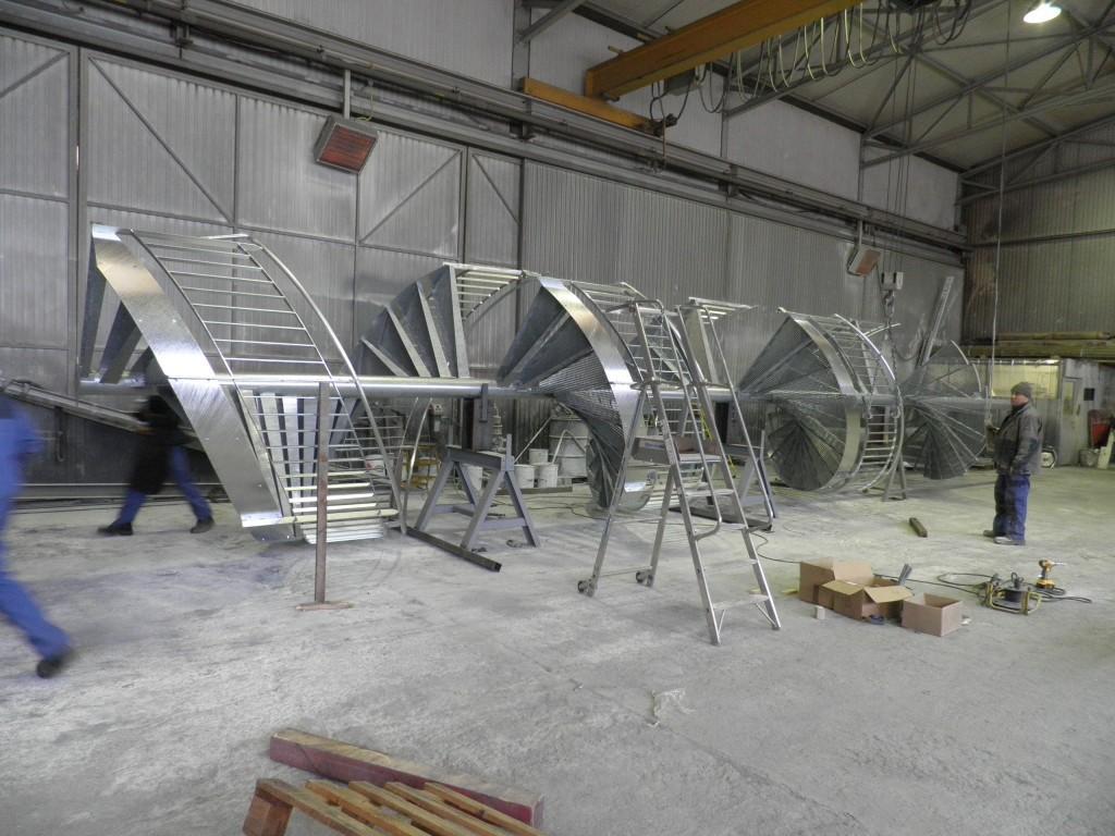 Cryostar - Alsace - Serrurerie et métallerie : escalier - Muller Rost