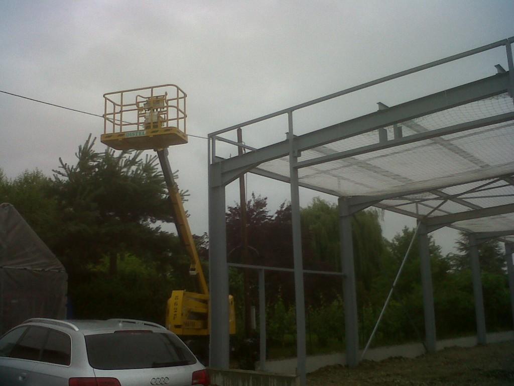 Garage Claus Colmar - Construction & charpente métallique - Muller Rost