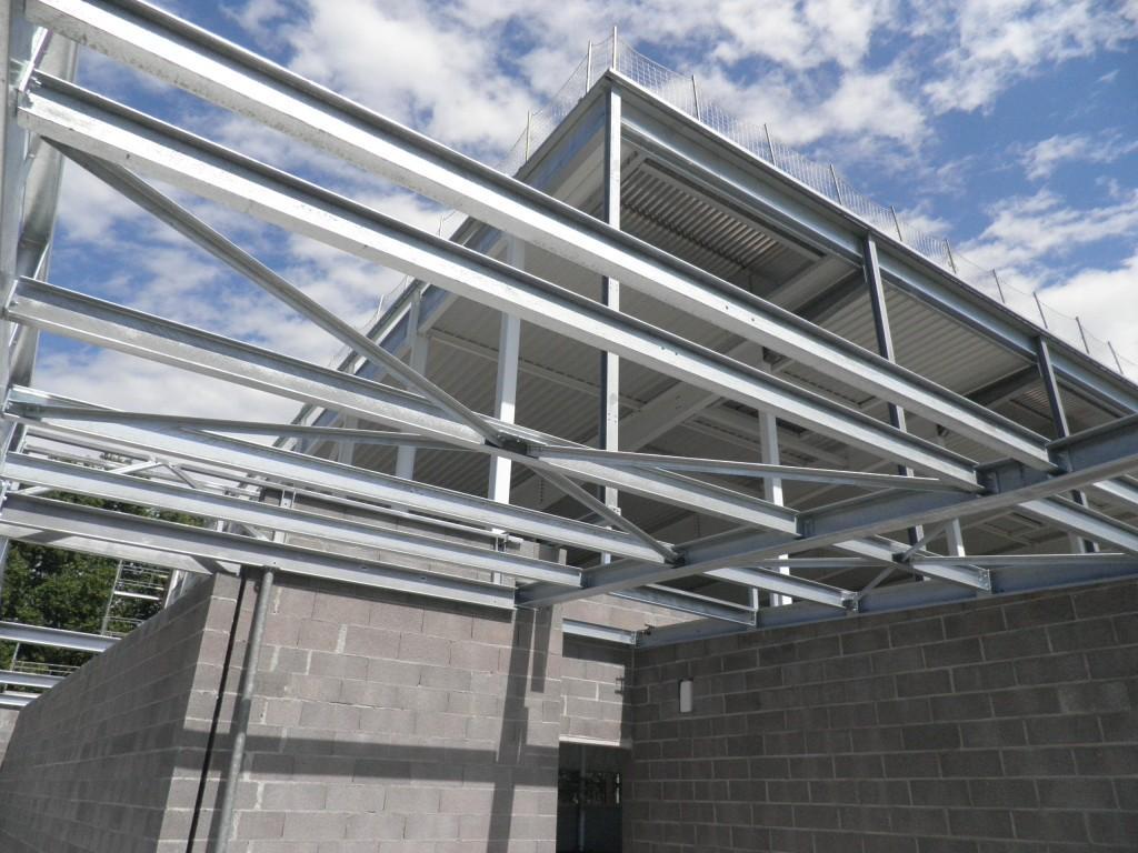 Gymnase heyritz - Strasbourg - Construction et Charpente métallique - Muller Rost