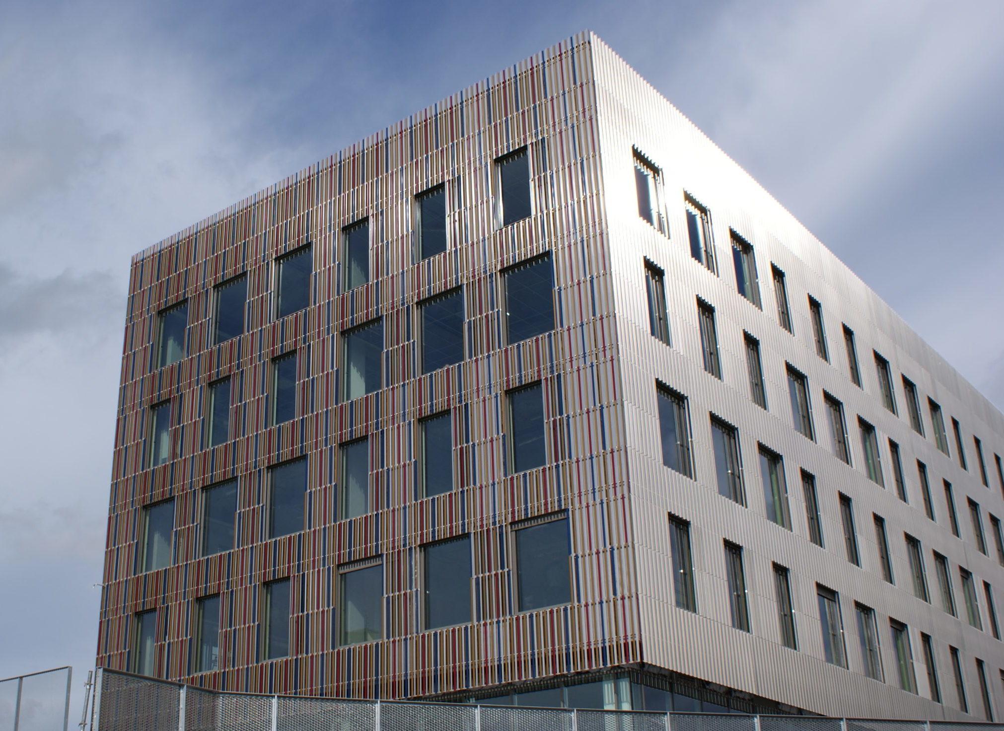 Bardage metallique: facade metallique maison & batiment - muller-rost