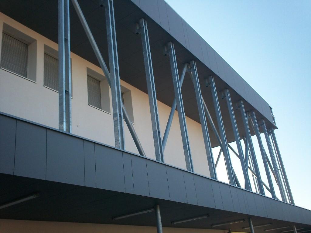 Lycée - Pont à Mousson - Constructions et charpentes métalliques - Muller Rost