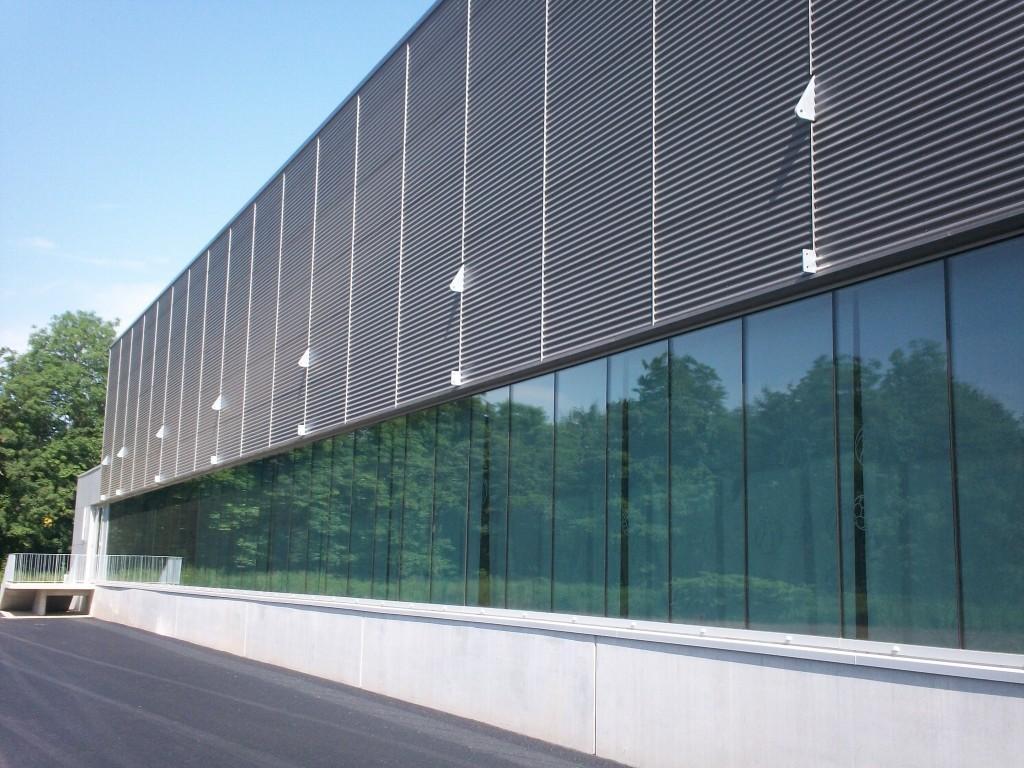 Millipore - Molsheim - Charpente et constructions métalliques - Muller Rost