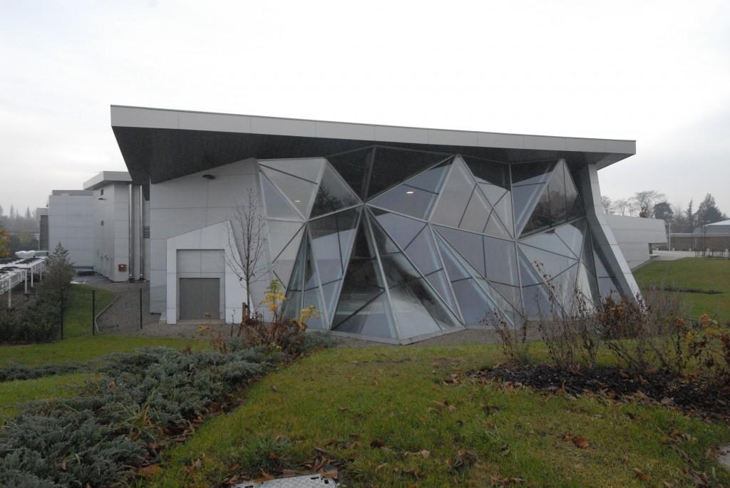PATINOIRE DE STRASBOURG Iceberg - Construction métallique alsace - muller rost
