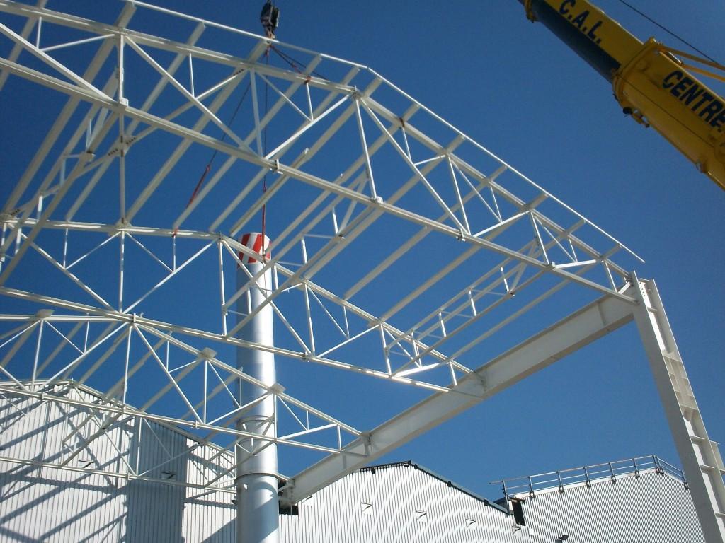 Rhenalu - Vieux-Thann - Construction et charpente métallique - Muller Rost