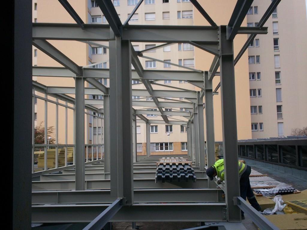 Uioss - Mulhouse - Constructions et charpente métallique - Muller Rost